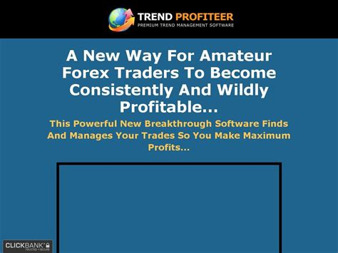 [click]trend Profiteer - New  Profitable Trend Trading Software .