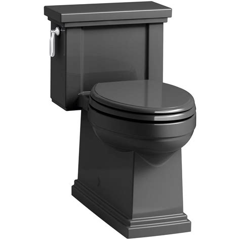 Tresham 1-Piece 1 28 Gpf Single Flush Elongated Toilet .