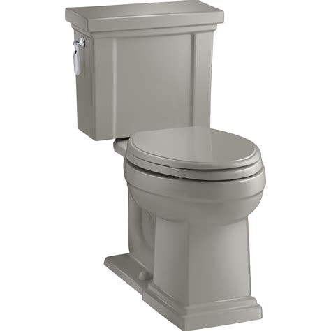 Tresham 2-Piece 1 28 Gpf Single Flush Elongated Toilet .