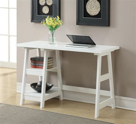 Trestle Desk White