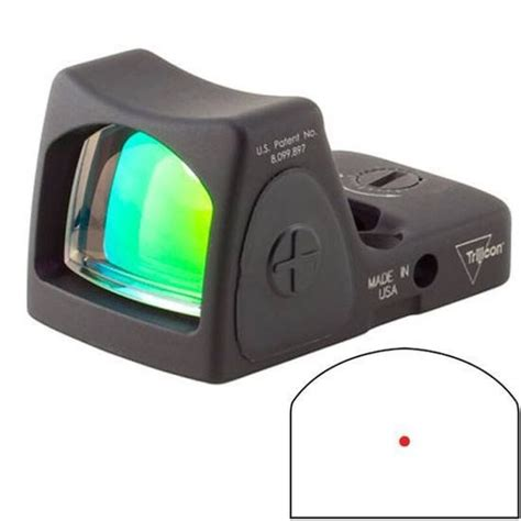 Trijicon Rmr 3 25 Moa Adjustable Led Red Dot Sight.