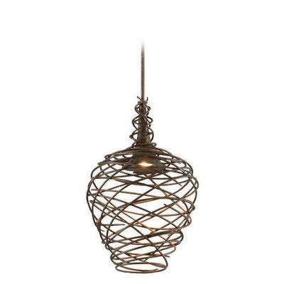 Troy Lighting Sanctuary 1-Light Pendant F418 Size Medium.