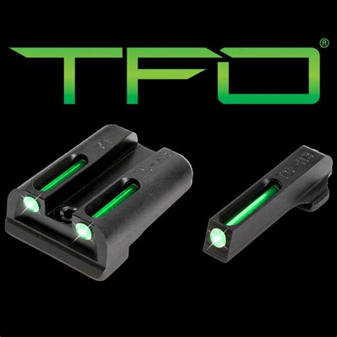 Truglo Brite-Site Tritium Fiber Optic Tfo Handgun Night .