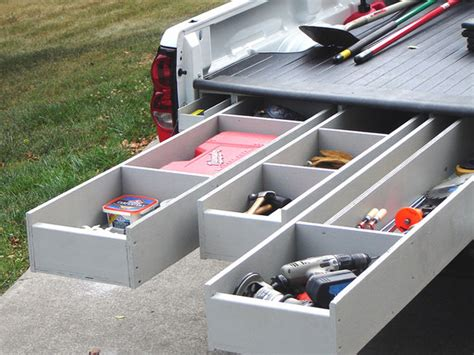 Truck Bed Storage Box Plans