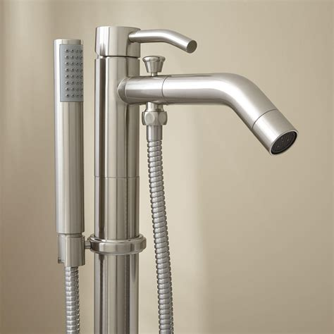 Tub And Shower Faucets With Handshower.