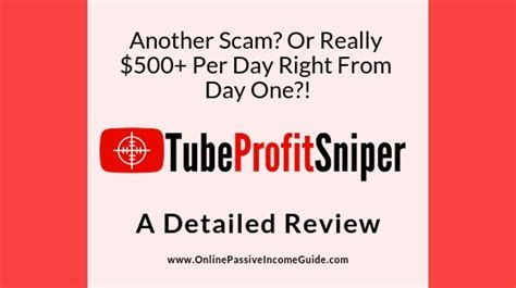 [click]tube Profit Sniper - Scam Or Legit  Real Review .