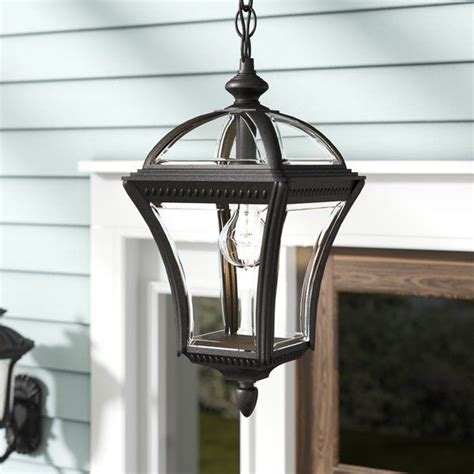 Tucker 1-Light Led Outdoor Hanging Lantern - Wayfair Com.