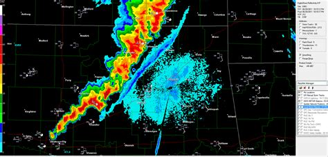 Tulsa Weather Radar in Motion