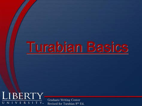 [pdf] Turabian-Style Citation Guide - Liberty University.