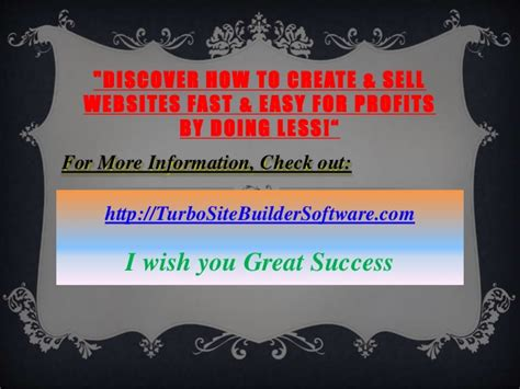 @ Turbo Site Builder Review.