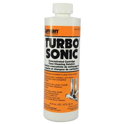 Turbo Sonic Cleaning Solutions  Lyman Ultrasonic Cleaning.