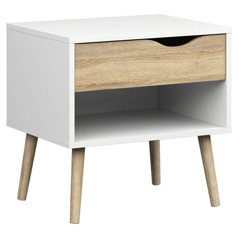 Tvilum Diana 1 Drawer Nightstand Multiple Colors .