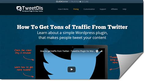 @ Tweetdis Wordpress Plugin Review Get More Tweets And .