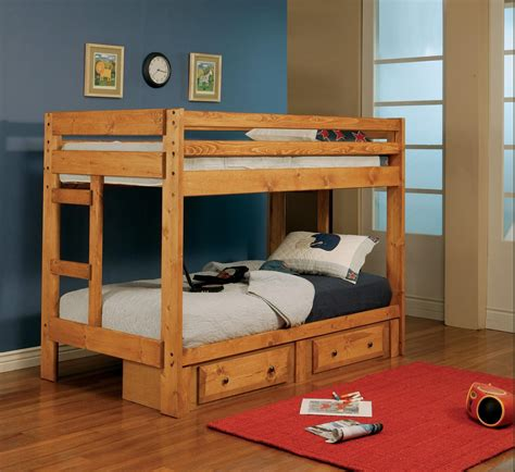 Twin Over Double Bunk Bed Plans