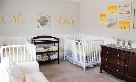 Twin Baby Nursery
