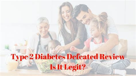 [click]type 2 Diabetes Defeated Reviews - Is It A Scam Or Legit .