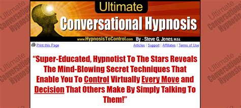 @ Ultimate Conversational Hypnosis Review-Does It  S Really .