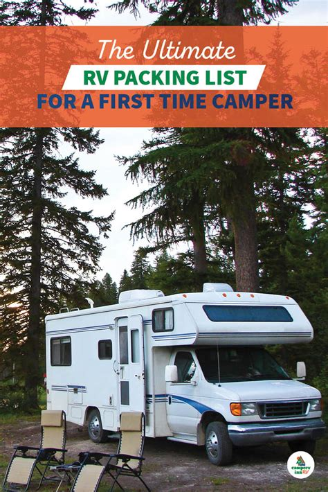 @ Ultimate Rv Packing List For A First Time Camper.