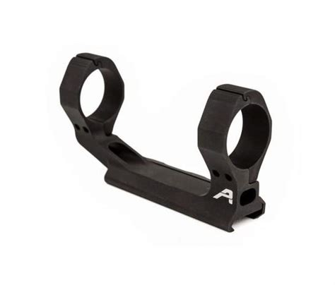 Ultralight 30mm Scope Mount - Anodized Black  Aero .