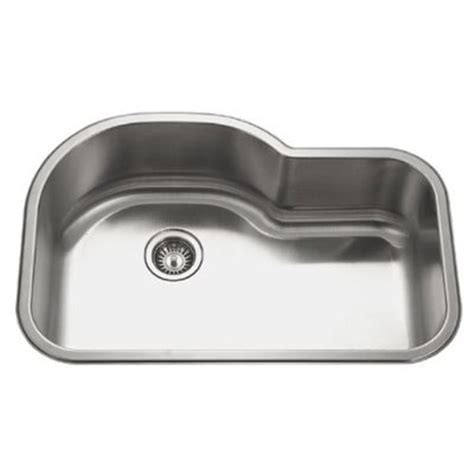 Undermount Single Bowl 32-Inch Stainless Steel Kitchen Sink.