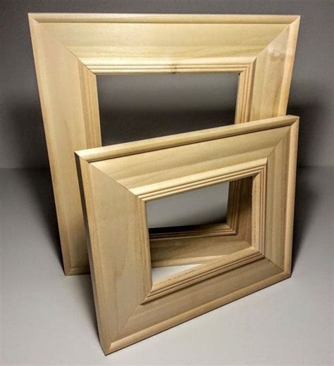 Unfinished Wood Frames 16x20