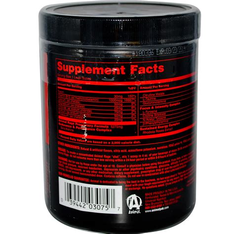 Universal Nutrition, Animal Rage, The Ultimate Energy - Iherb.com.