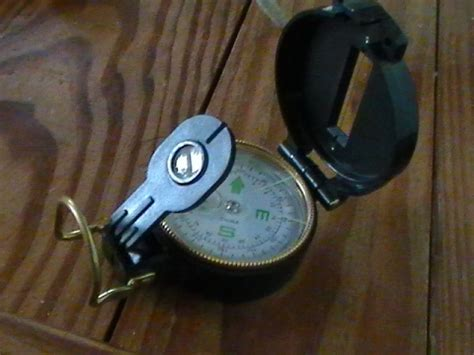 Using A Lensatic Compass For Dummies .