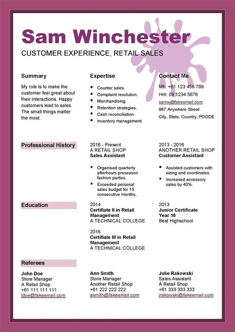 Professional resume writing service san jose