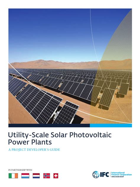@ Utility-Scale Solar Photovoltaic Power Plants - Ifc.