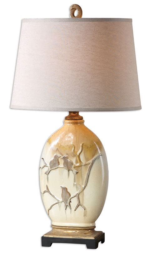 Uttermost 26498 Pajaro Lamp Aged Ivory - Amazon Com.