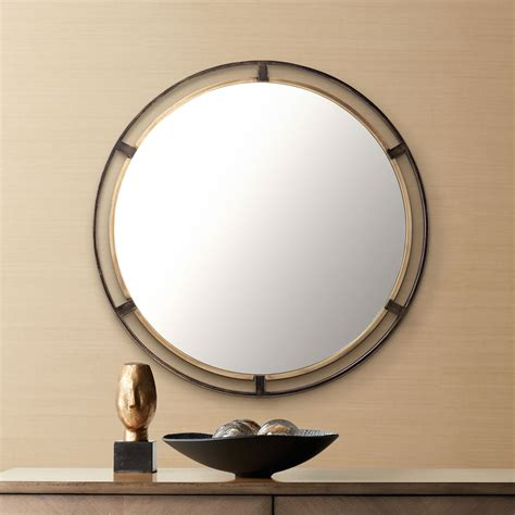 Uttermost Gold Round Home D Cor Mirrors  Ebay.