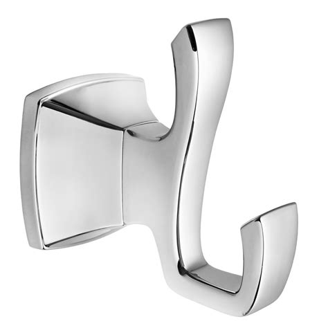 Venturi Robe Hook In Polished Chrome - The Home Depot.