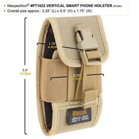 Vertical Smart Phone Holster - Maxpedition Co Uk.