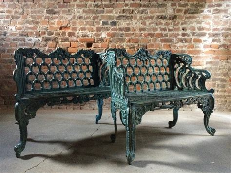 Victorian Antique Cast Iron Benches
