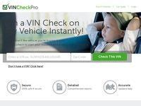 Vin Check Pro - A Product Created For Affiliates By Affiliates - Webs.
