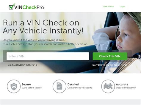 Vin Check Pro A Product Created For Affiliates By Affiliates - Webs.