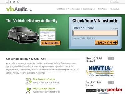 Vinaudit - Carfax Alternative - Official Nmvtis Provider - Yt.
