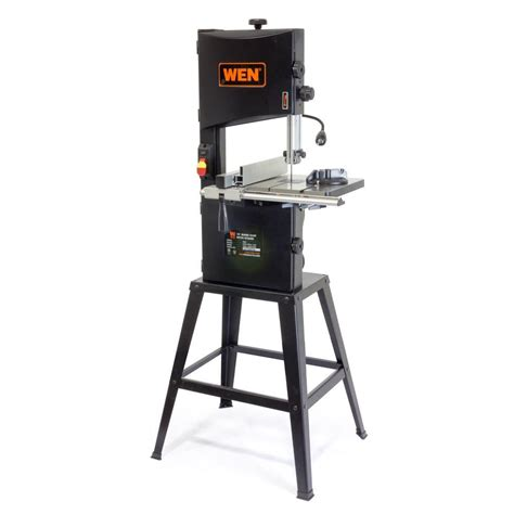 Wen 3962 Two-Speed Band Saw With Stand And Worklight 10 .