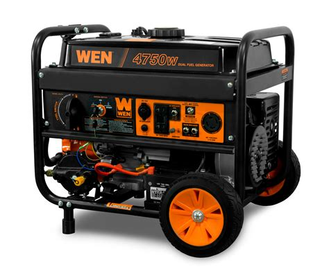 Wen 4750 Watt Generator With Electric Start Product Demonstration .