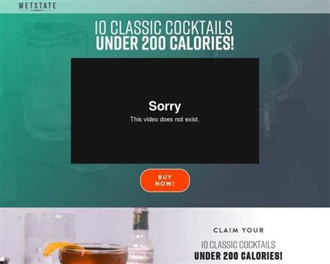 [click]wetstate  10 Classic Cocktails Under 200 Calories .