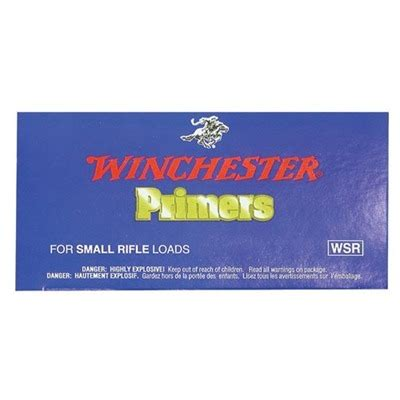 Winchester Rifle Primers  Brownells.