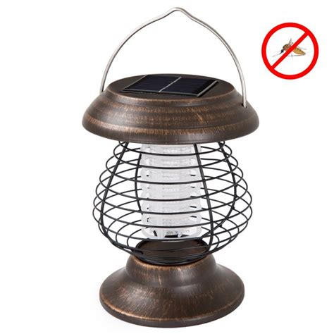 Wakeman Outdoors 2-In-1 Ultraviolet Bug Zapper Led .