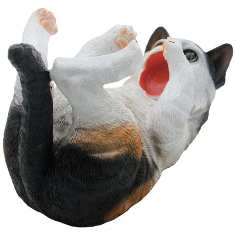Wall Charmers Faux Calico Kitty Cat Wine Bottle Holder .
