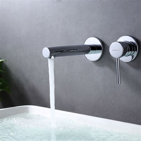Wall Mounted Bathroom Sink Faucets You Ll Love - Wayfair.
