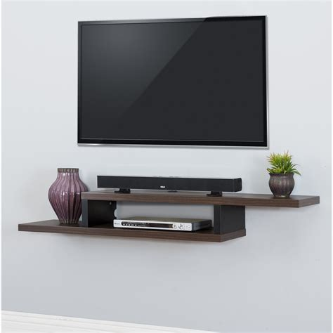 Wall Mounted Shelves For TV Components