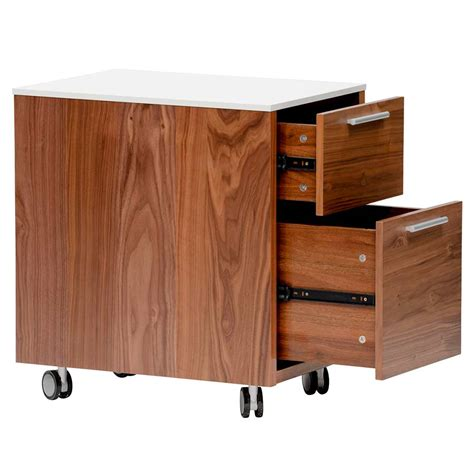 Walnut Filing Cabinets For Home  Office  Hayneedle.