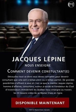 @ Watch Comment Devenir Consultant E Avec Jacques Lepine .