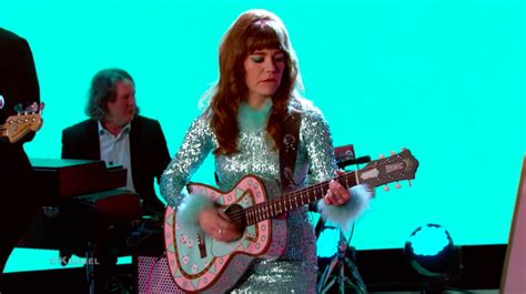 Watch Jenny Lewis Dazzle Kimmel With Red Bull And Hennessy.