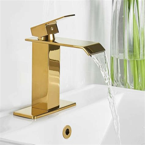 Waterfall Spout Bathroom Sink Faucets You Ll Love  Wayfair.