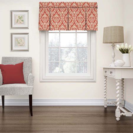 Waverly Wavelry Donnington Box Pleat Window Valance .